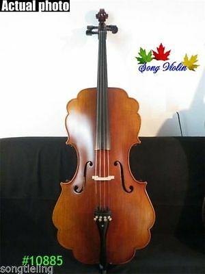 Barouqe style SONG Brand Maestro 4/4 cello,huge and powerful sound #10885