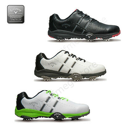 Callaway Golf Mens Chev Mulligan Golf Shoes - Waterproof -  3 colours