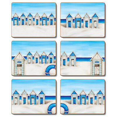 Seaside - Set of 6 Placemats and Coasters by Lisa Pollock