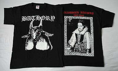BATHORY OFFICIAL ORIGINAL T-SHIRT LEGEND OF BLACK METAL Quorthon Seth