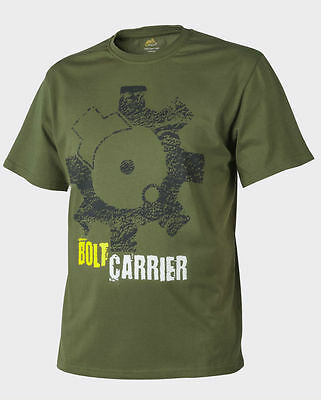Helikon T-Shirt (Bolt Carrier) Cotton U.S. Green.