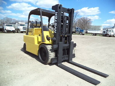 Hyster Model S125A, 12500#, 12,500# Cushion Tired Forklift, LPG Powered