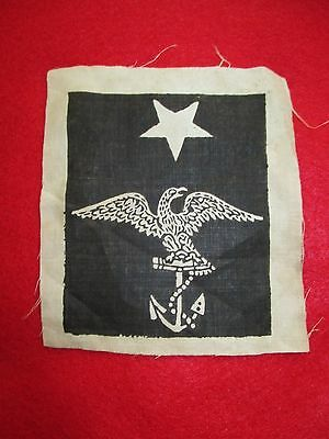 Original Civil War Us Navy Petty Officer Eagle Over Anchor Rating Badge