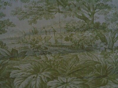 Pottery Barn~Matine Sprout Green Toile Euro Pillow Sham~New