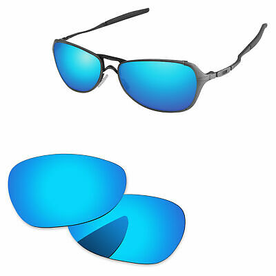 afd83f2d43eb PapaViva Ice Blue Mirrored Polarized Replacement Lenses For-Oakley Felon