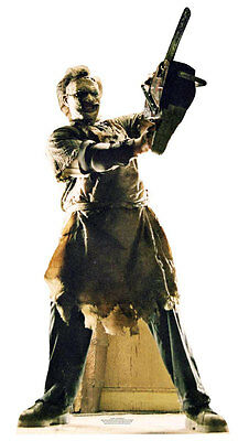 Leatherface Texas Chainsaw Massacre Cardboard Cutout / Stand Up Standee Horror