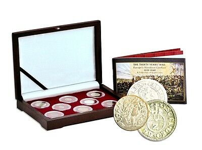 The Thirty Years War, Europe's Bloodiest Conflict A Collection of 8 Coins,Boxed