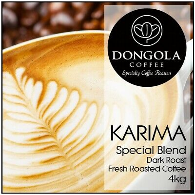 4KG DONGOLA KARIMA Fresh Roasted Coffee Beans Special Blend Whole Bean / Ground