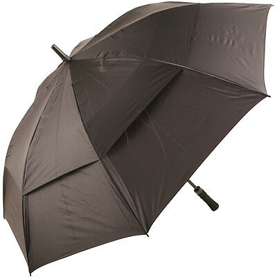 Stormking Sport 135 Black Vented Walking Length Umbrella