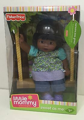 Little Mommy Sweet as Me AA Black Hopscotch Toddler Doll New Sealed Box