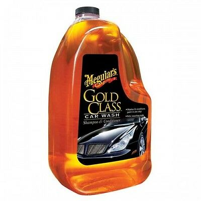 Meguiar's Gold Class Car Wash - Shampoo & Conditioner - 64 OZ / 1.89 L