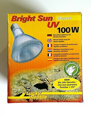Lucky Reptile Bright Sun UV Desert - 100 Watt NEU