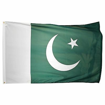 Pakistan Pakistani National Day 14 August Flag 5ft X 3ft
