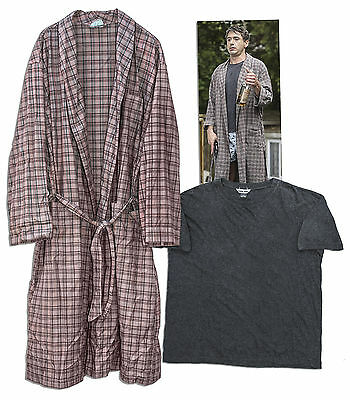 Robert Downey, Jr. Calvin Klein Robe & Shirt w COA