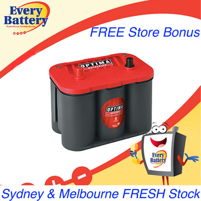Optima 34 Red Top Battery Store Pickup Kensington - Heidelberg - Ashburton VIC