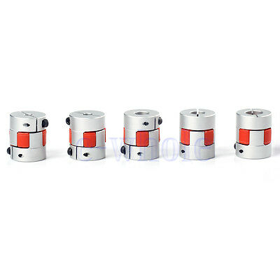 5/6.35/8/10/12mm Flexible Plum Coupling Shaft CNC Stepper Motor Coupler DT