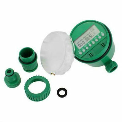 Home Automatic Electronic Water Timer Garden Irrigation Controller Set Programs