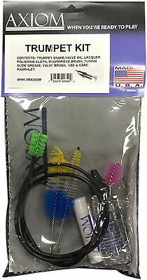 Axiom Trumpet Maintenance Kit - Trumpet Cleaning Kit Made in USA