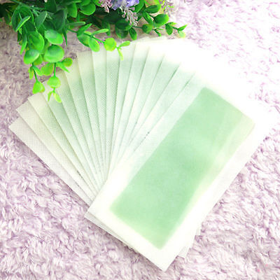 Body Hair Depilatory Wax Strips Removal 10Sides Leg Papers Waxing Nonwoven CHI