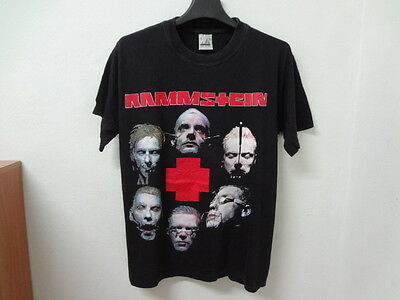 RAMMSTEIN t shirt Vintage Industrial Heavy Metal Music Tour concert Size M