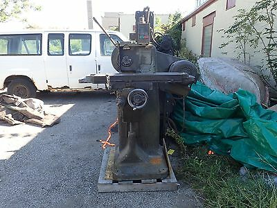 US Burke #2 Hand Miller Horizontal Milling Machine 2HP 208-220/440V 3ph