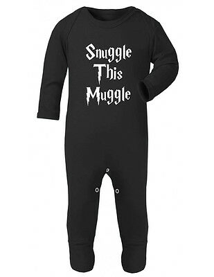 Snuggle This Muggle Harry Potter Onesie baby Rompersuit vest bodysuit baby grow