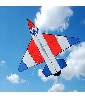 kite airplane,children kids Easy to Fly Single Line nylon case,handle and line