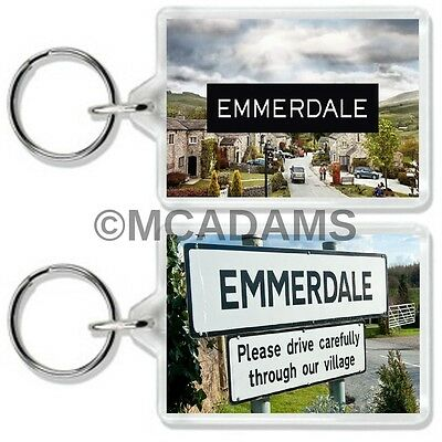 Emmerdale Classic Tv Show Keyring *great Gift* Uk Seller