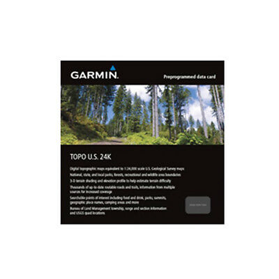 Garmin TOPO U.S. 24K West Garmin TOPO US 24K West (microSD/SD card )