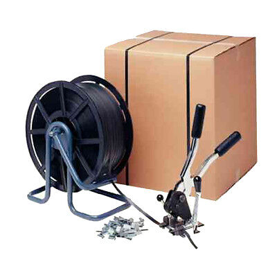 Complete Shipping Carton Strapping Kit / 2000M Strapping & Applicator / Ma87110