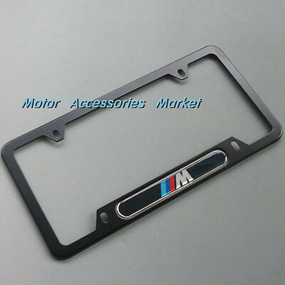 New Aluminium Alloy License Plate Frame For BMW #2MBL