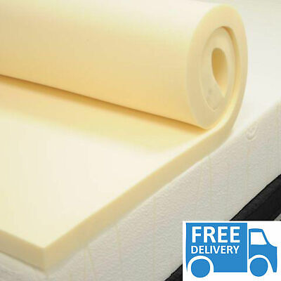 MEMORY FOAM MATTRESS TOPPER MADE IN UK Soft and Comfortable