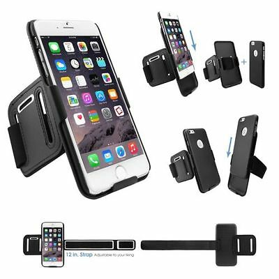 Cellet Proguard Cell Phone Case+Sports/Running Armband Combo - iPhone 6/6S Plus