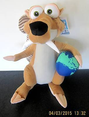 "ICE AGE 4  SCRAT * BIG SOFT TOY/DOLL/PLUSH/ * 17""/43cms * BRAND NEW WITH TAGS"