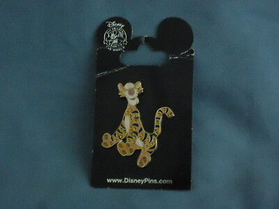 RHINESTONE TIGGER JEWELS JEWELED Winnie The Pooh Collectible DISNEY PIN 53421