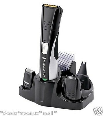 Cordless Grooming Shaving Kit Haircut Hair Nose Facial Trimming Mens Remington