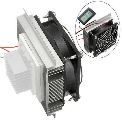 Thermoelectric Peltier Refrigeration Cooling Cooler Fan System Heatsink Kit 12V