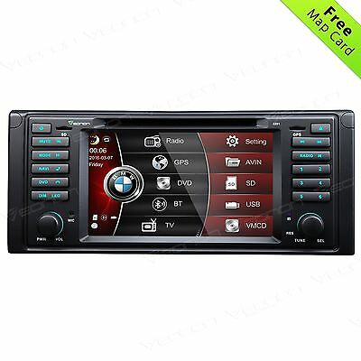 "Eonon 7""GPS Car DVD Stereo Radio Player for BMW E39 Navigation Nav MP3 USB DAB+B"