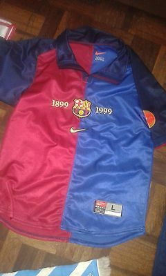 Centenary 14/16 FC Barcelona Camiseta Futbol Football Shirt