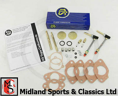 Crk254 - Mgb Hs4 Genuine Su Carburettor Rebuild Kit
