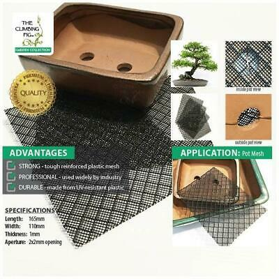Bonsai Sole Mesh - premium plastic sheets | use in bonsai & succulent plant pot.