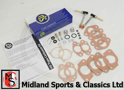 Csk59 - Mgb Hs4 Genuine Su Carburettor Service Kit - Wzx1859X