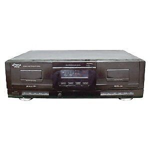Pyle Audio PYRPT659DUB Cassette Deck with Tape USB to MP3 Converter