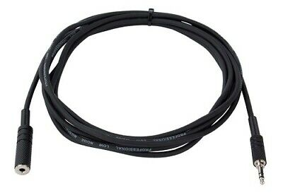 JB Systems 1236 Extension Cable 3,5mm mini jack stereo M/F 1,5m