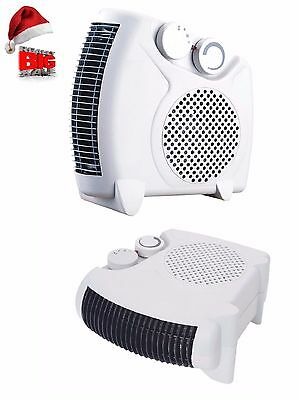 2000Watt / Portable Floor Silent Electric Fan Heater Hot & Cold