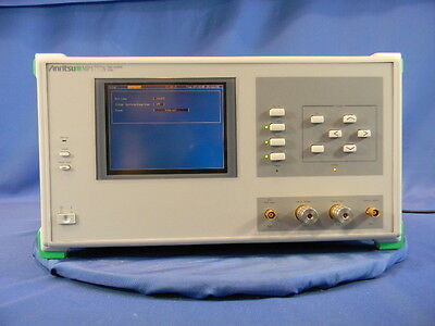 Anritsu MP1777A 10 GB Jitter Analyzer With Options 02, 10