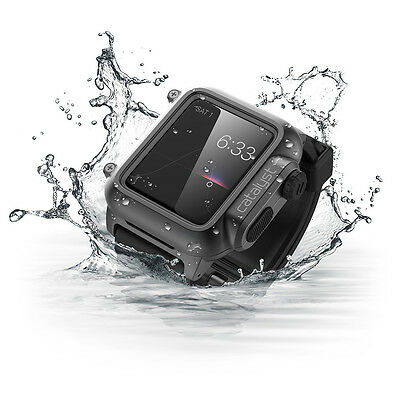KPh06 Original Safety swim jogging diving Waterproof case for Apple Smart Watch