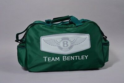 NEW TEAM BENTLEY TRAVEL / GYM / TOOL / DUFFEL BAG flag gt gtc continental arnage