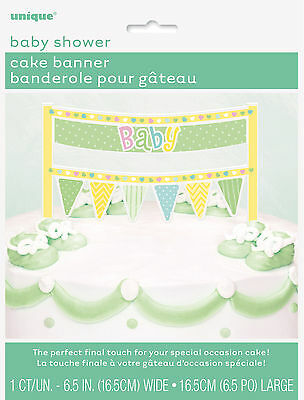 Baby Shower Party Supplies Cake Banner Perfect To Put On Any Baby Shower Cake