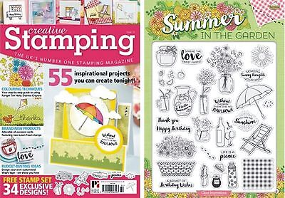 Creative Stamping Issue 32 + Free 34 Stamp Collection Summer In The Garden